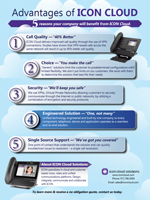 The ICON Cloud  - 5 Advantages Brochure.