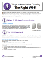 Picture of the ICON Networks - 8 Things to Know Before Choosing the Right WiFi Brochure