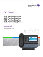 Picture of the alcatel-lucent 8028s, 8058s, 8068s, 8078s Premium Deskphone User manual