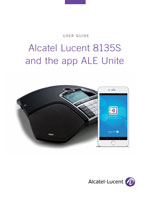 The Alcatel-Lucent 8135s IP Conference Phone User Manual.