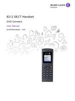 Picture of the  Alcatel-Lucent 8212 DECT Handset User Manual
