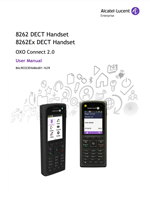 Picture of the  Alcatel-Lucent 8262 DECT Handset User Manual