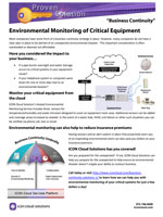 The Environmental Monitoring Proven Solution.