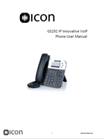 Picture of the UniVois U6S IP Phone Brochure