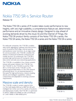 Picture of the Nokia 7750-SR Brochure