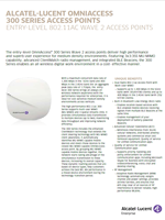 Picture of the alcatel-lucent OmniAccess 300 series