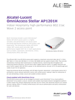 Picture of the OmniAccess Stellar AP1201H brochure