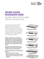 Picture of the OmniSwitch 6560 brochure.