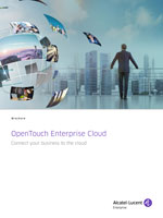 Picture of the OpenTouch Enterprise Cloud Brochure