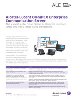 Picture of the Alcatel-Lucent OmniPCX Enterprise Brochure