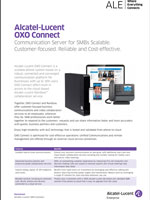 Picture of the Alcatel-Lucent OXO Connect Brochure