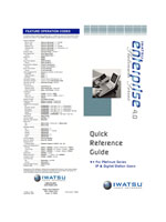 Picture of the Iwatsu Platinum Series Eighteen Button IP & Digital Station Quick Reference Guide