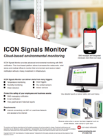 The ICON Signals Monitor brochure.