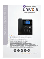 Picture of the UniVois U3S IP Phone Brochure